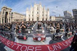 I Bauli in Piazza Duomo a Milano