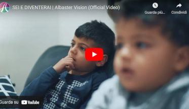 due bambini in copertina del video degli Alabaster Vision: Sei e diventerai
