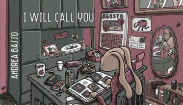 copertina disegnata del disco di Andrea Basso: I will call You