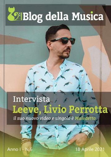 LEEVE, Livio Perrotta, in Copertina su Blog della Musica