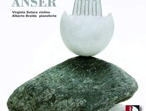 copertina del disco ANSER di Virginia Sutera e Alberto Braida