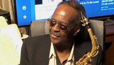 Hayward Rashaad con il sax