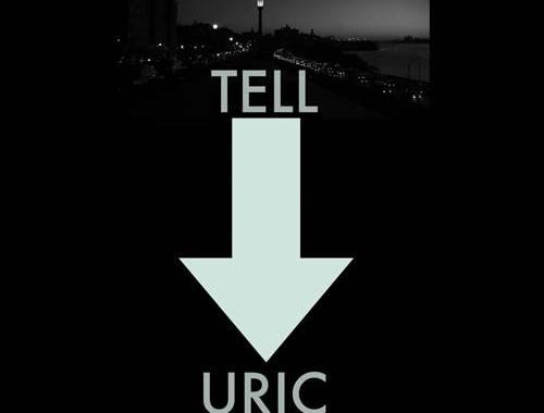 copertina disco di Luigi Porto: TELL URIC