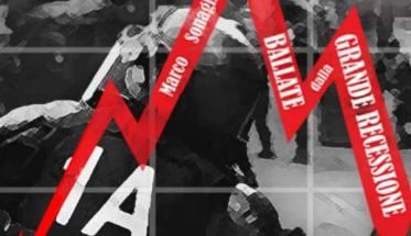 copertina disco di Marco Sonaglia: Ballate dalla grande recessione