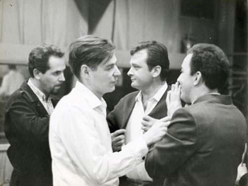 Tom Jobim, Tião Neto, Stan Getz e João Gilber