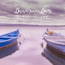 due barche su un lago in copertina del disco di Beppe Dettori e Raoul Moretti: Animas