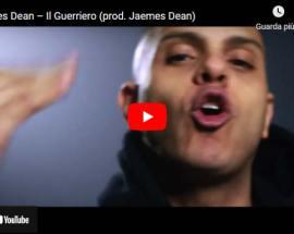 Jaemes Dean in copertina del video Il Guerriero
