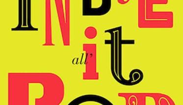 copertina del libro gialla con le scritte Dario Grandi: DALL'INDIE ALL'IT-POP Evoluzione, estetica e linguaggi