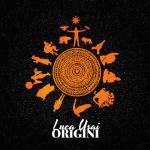un sole stilizzato in copertina del disco di Luca Usai: ORIGINI