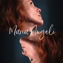 Maria Angeli nella copertina del disco: Anyhow