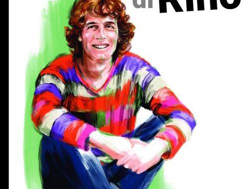 disegno di Rino Gaetano in copertina al libro Raccontami di Rino
