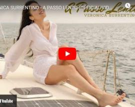 Veronica Surrentino in copertina del video di: A passo lento