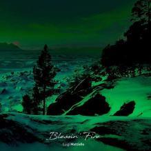 copertina del disco di Luigi Mattiello: Blessin Fire