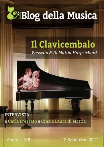 Frezzato & Di Mattia Harpsichord in Copertina su Blog della Musica