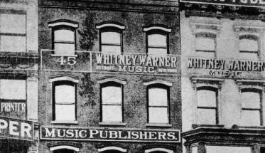l'edificio del Tin Pan Alley Blues
