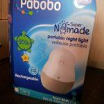 Les tests de Choupette : La veilleuse super nomade Pabobo.