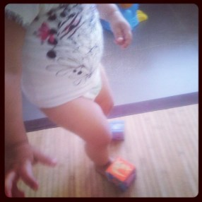 Les cubes/chaussures