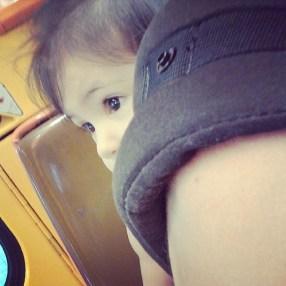 Liloute adore le métro !