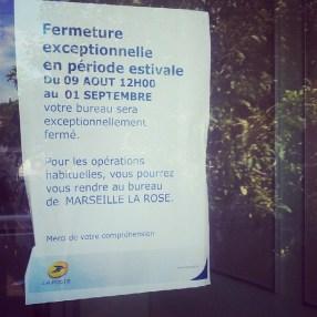 Marseille et le mois d'Août...
