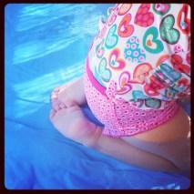 Petits petons dans l'eau !