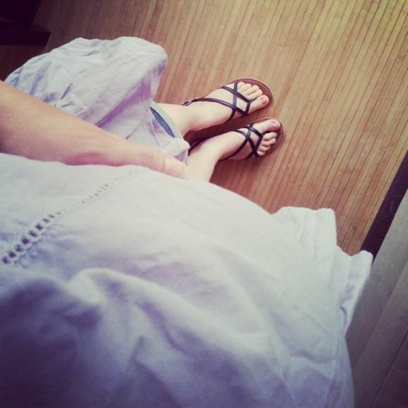 9-short-sandales-grossesse