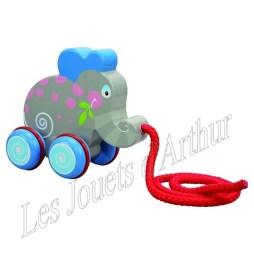 Rouleur éléphant 19€90