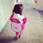 Sa première rentrée des classes…
