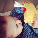 Point bébé – Miniloute a 8 mois !