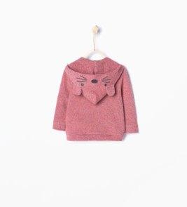 Veste à capuche 16€95