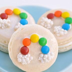 Rainbow Macarons creativejuice