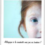 Pour informer sur les allergies alimentaires de nos enfants : la campagne ALLIA