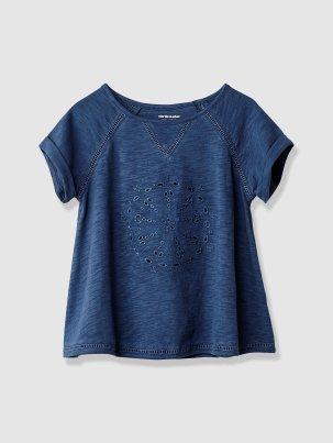 t shirt ajouré 11€95