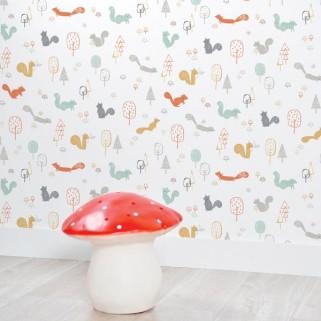 papier-peint-foret lilipinso 45€