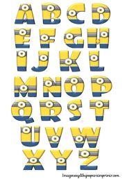 alphabet-minion