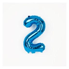 ballon mylar bleu 2