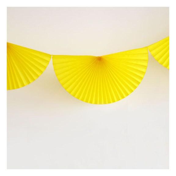 guirlande jaune