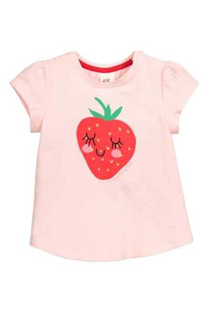 t shirt fraise 3€99