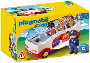 Autocar Playmobil 123 13€99 chez Amazon