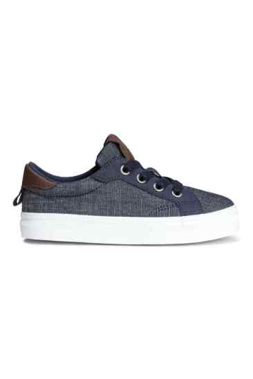 h&m baskets denim 17€99