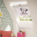 Déco : une chambre d'enfant sous les toits