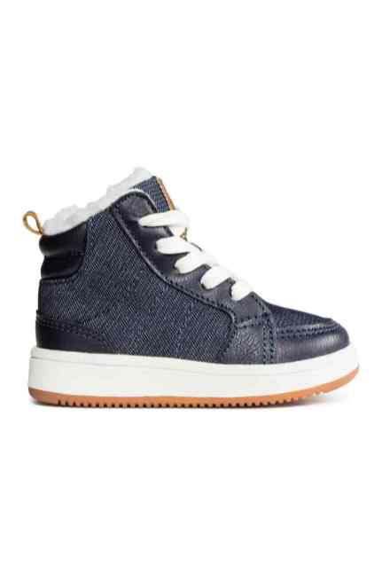 baskets doublees hm 19€99