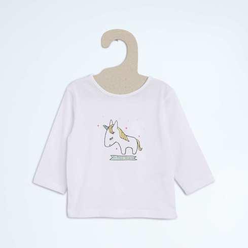 t shirt bebe licorne 4€