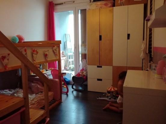 nouvelle chambre des filles