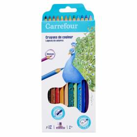 Crayons carrefour 1€10