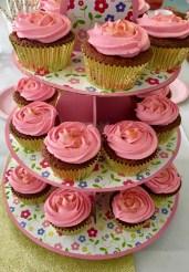 cupcakes rose dores
