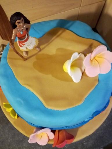 birthday cake moana