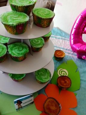cupcakes vaiana