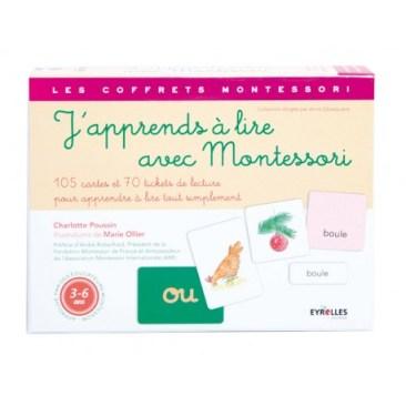 j'apprends à lire avec montessori 24€90
