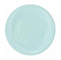 assiettes vert menthe vegaooparty