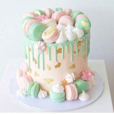 http://www.noveltybirthdaycake.com/how-to-make-a-drip-cake/